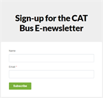 Subscribe to CATbus Email Blasts!